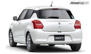 2018 suzuki swift sport.  suzuki suzuki swift sport tampil cukup sporty dibandingkan varian standarnya  bumper depannya terlihat lebih berotot dengan sepasang foglamp berbentuk bulat  for 2018 suzuki swift sport