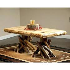 rustic log coffee table rustic log coffee table rustic aspen log fireside coffee table rustic log