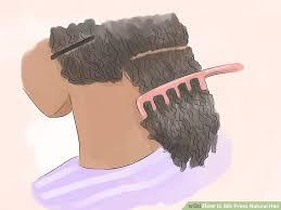 image titled silk press natural hair step 7