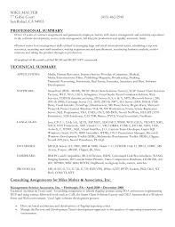 Gallery Of Resume Format For Word