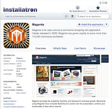 Magento one click install and free backup