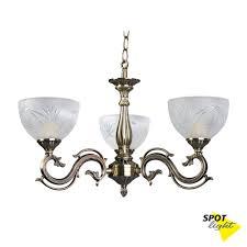 Spot Light Sp 5193311kronleuchter Inspira 3 Flammig Altmessingweiß