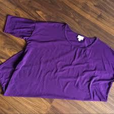 Lularoe Solid Purple Irma M