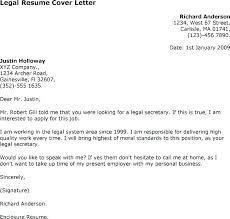 Law Clerk Cover Letter Sample Sample Cover Letters Legal Assistant