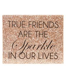 true friends rose gold wall art claire s pertaining to plans 11 on rose gold wall art quotes with gold wall art numabukuro fo