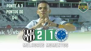 Assistir aos Gols e Melhores Momentos de Ponte Preta 2 x 1 Cruzeiro -  Campeonato Brasileiro Série B - Futebol Stats