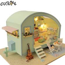minature doll house furniture. Diy Doll House Wooden Houses Miniature Dollhouse Furniture Kit Toys For Children Gift Time Travel A 016 Toy Victorian Dollhouses From Minature L