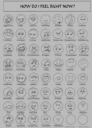 Preschool Feelings Chart Printable 51 True Feelings Chart With Real Faces