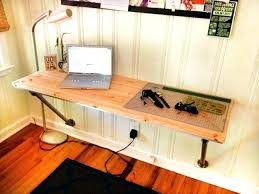 diy floating desk diy home. Floating Diy Desk Home W