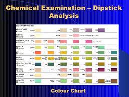 Urine Stick Colour Chart Lab Diag Nephrotic Synd 2003