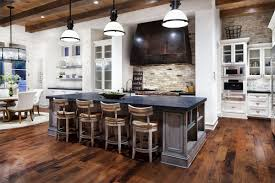Kitchen Island Breakfast Bar Hill Country Modern Austin Texas DMA