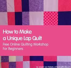 How to Make a Modern Lap Quilt :: Free Quilt Patterns & how to make a unique modern lap quilt, tutorial for beginners, quilting  class 9 Adamdwight.com