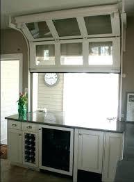 contemporary kitchen garage door kitchen gl garage door kitchen window