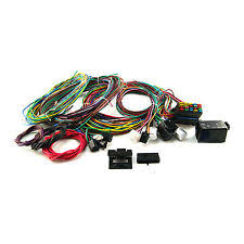 street rod wiring harness universal 20 circuit wiring harness kit street rod hot rod race car