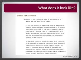 Annotated Bibliography Purdue Owl Example         jpg