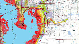 Time Map 2019 Evacuation Zone Maps In Time For Hurricane Season