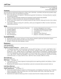 Beautiful Resume Template And Cover Letter Diesel Mechanic Resume