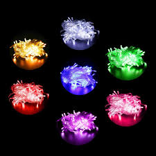 Mini Lights On House Us 4 84 3 Off Multi Color Led String Lights 100 Leds Mini Bulb For Christmas Tree House Courtyard Party Garden Decor Eu Us Plug Options L In Led