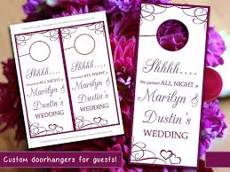wedding door hanger template. Door Hanger Template For Unique Heart Wedding Welcome By