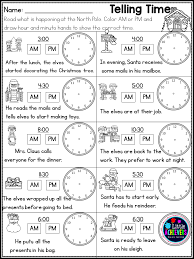 Christmas activities for First Grade Math Worksheets and Literacy ...