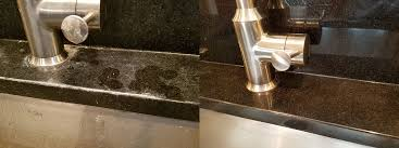 sanitize re and maintain marble and granite countertops
