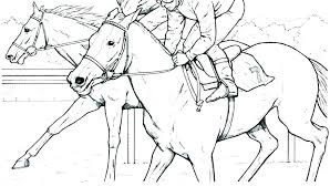 Free Coloring Pages Of Horses Free Coloring Pages Horse Racing Free