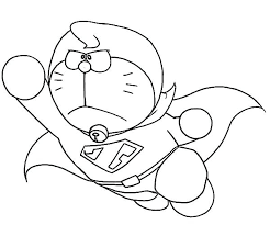 All of it in this site is free, so you can print them as many as you like. Super Doraemon Coloring Page Free Printable Coloring Pages For Kids