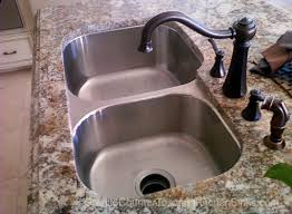 how to seal an undermount sink under granite or stone counter top