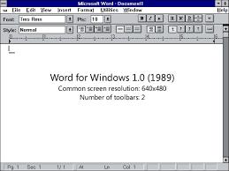 История microsoft word текстового редактора и процессора  Кто создатель знаменитого текстового процессора