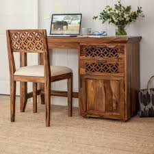 Sheesham Bedroom Furniture Wooden Study Table High Quality Furniture Online Crafted In