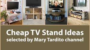 Cheap TV Stand Ideas  Apartment Decorating on a Budget