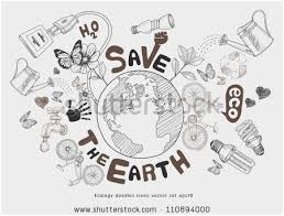 Save The Earth Coloring Pages Best Of Save Earth Stock S