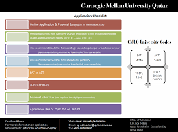 carnegie mellon university in qatar how to apply application also learn more about how we select students and our frequently asked questions by ing our faq page