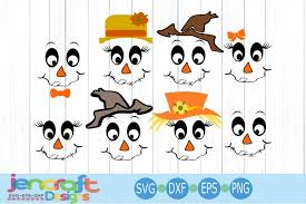 This post may contain affiliate links that won't change your price. Scarecrow Face Svg Fall Svg Halloween Svg Pumpkin Svg 116344 Cut Files Design Bundles