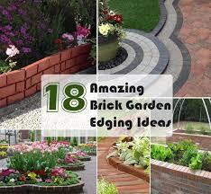 brick garden edging. brick garden edging ideas a