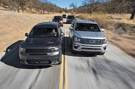 Beasts Of Burden Ford Expedition Vs Chevrolet Tahoe Vs