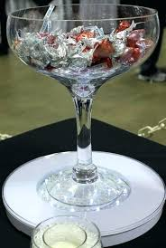 top centerpieces millers party al with regard to oversized wine glass vase decorating for s giant wine glass