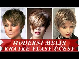 Moderní Melir Kratke Vlasy účesy