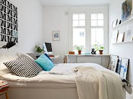 desk in small bedroom. Delighful Small Corner Small Bedroom Desks Near White Bed And Cabinet With Desk In