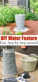 How to install a garden water feature {water fountain} - this is such an