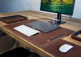 large leather desk organization system large leather desk pad