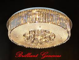 modern big round luxury k9 crystal led chandelier ceiling light with intelligent remote control large chandelier chandelier candle covers from loyalqin
