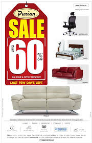 Durian Furniture Sale Upto 60 Off Ad Advert Gallery