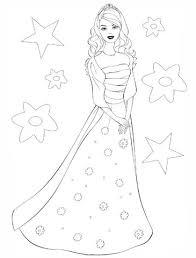 Disegno Di La Principessa Barbie Da Colorare Disegni Da Colorare E