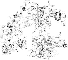 Chevy 203 transfer case diagram with pictures