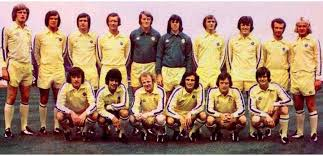 WAFLL - Leeds United Stats - Final Table Division One 1974-75