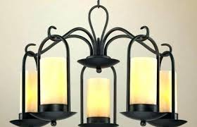 hanging candle chandelier outdoor outdoor lighting medium size hanging candle chandelier outdoor wrought iron mason jar pillar candle holders electric
