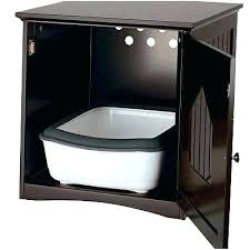 litter box furniture cat enclosed covered. Enclosed Litter Box Furniture Cat 2 Of 4 Hidden Wooden Covered Large Kitty Enclosure F