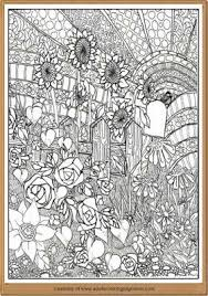 Free Nature Landscape Adults Coloring Pages Nature Coloring Pages