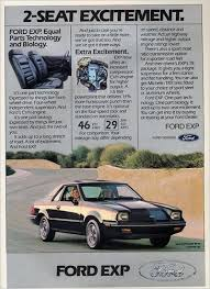 1982 Ford Exp Escort – 1st Dream Machine   Paper Smog furthermore  together with  as well  furthermore  further Curbside Classic  1985 Ford EXP – Ford's Ugly Little Sin furthermore  further Ford Radio   eBay further 1987 Ford EXP   Information and photos   MOMENTcar as well Ford EXP   Wikipedia in addition Ford Car Radio   eBay. on ford exp car radio